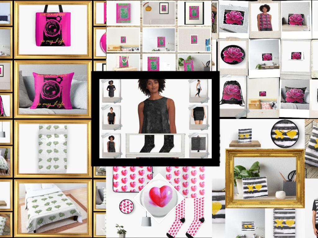 Designs von MW Art Marion Waschk sind auf vielen ausgefallenen Produkten erhältlich