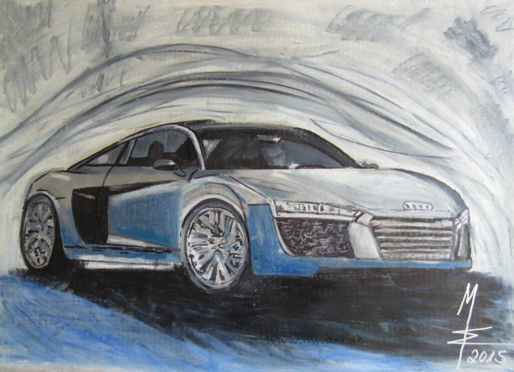 Kuktauto Audi R8 von MW Art Marion Waschk