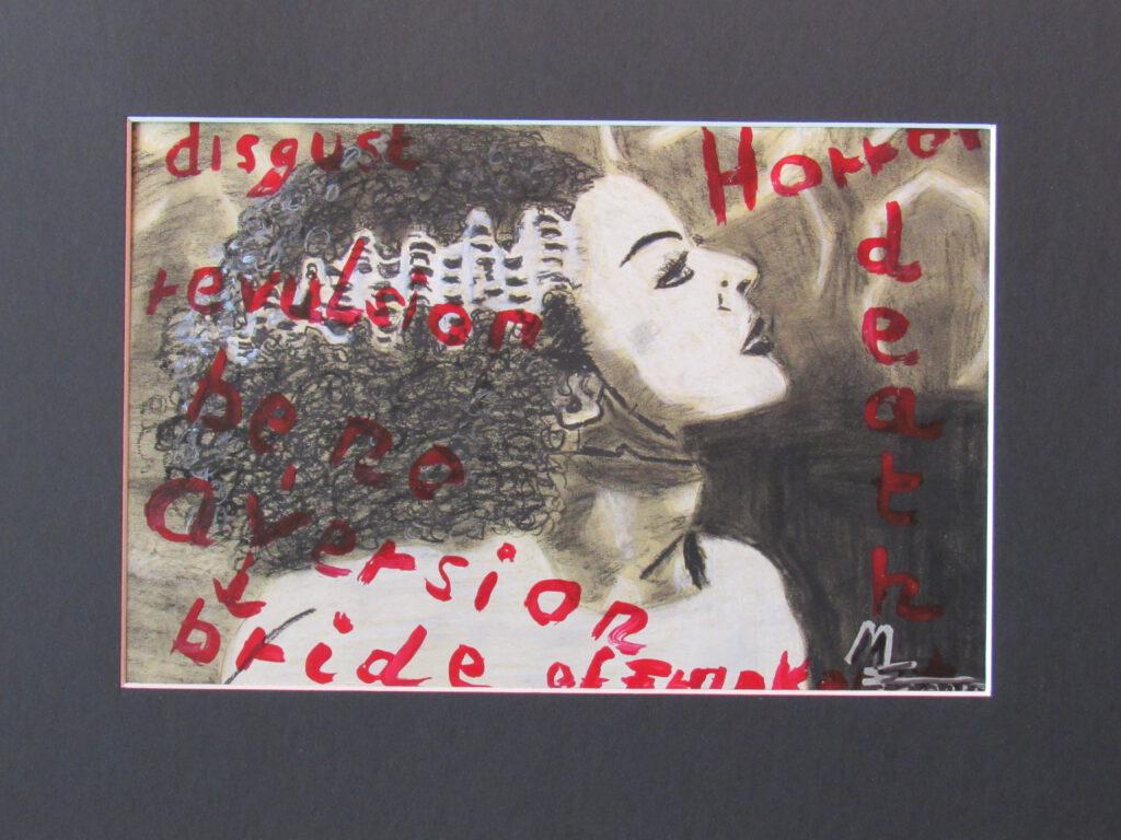 Frankenstein the Bride von MW Art MArion Waschk