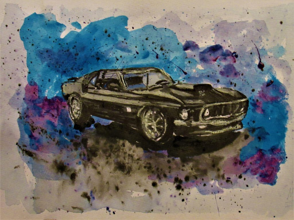 Kuktauto 69er Mustang von MW Art Marion Waschk