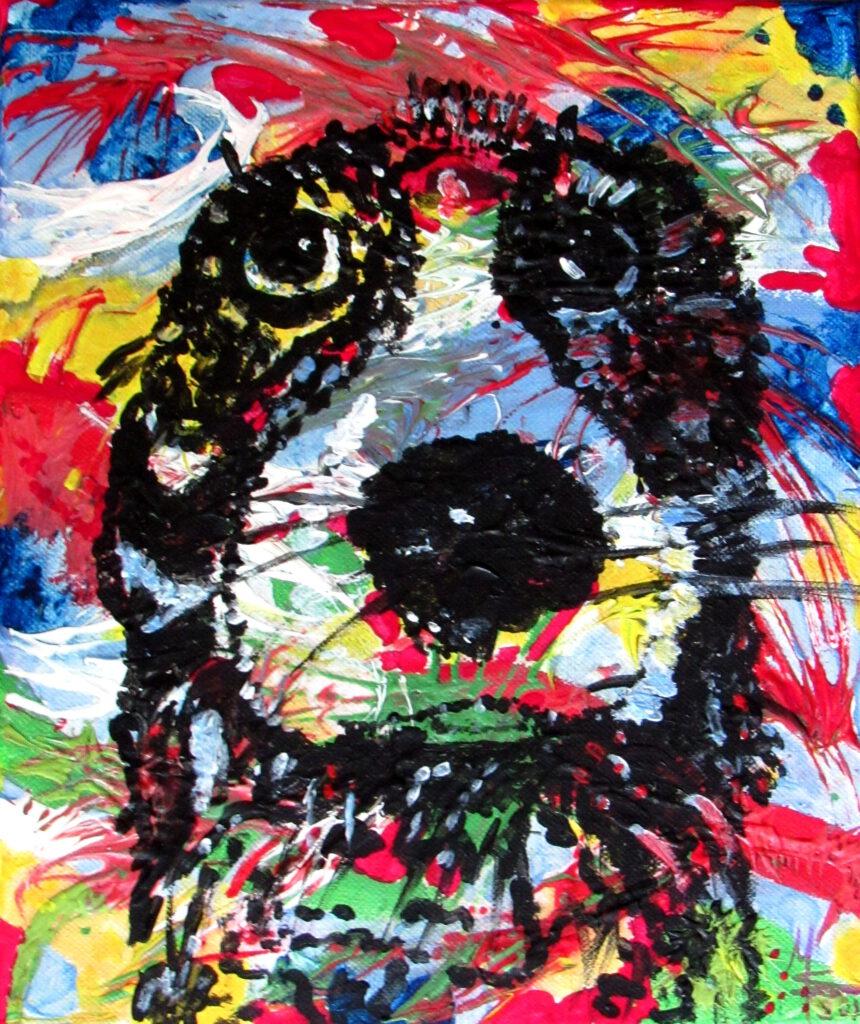 Kunst mit Kindern, Farben ziehen von MW Art Marion Waschk