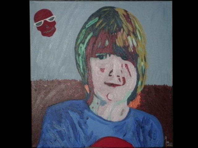 Auftragsarbeit Portait Junge von MW Art Marion Waschk