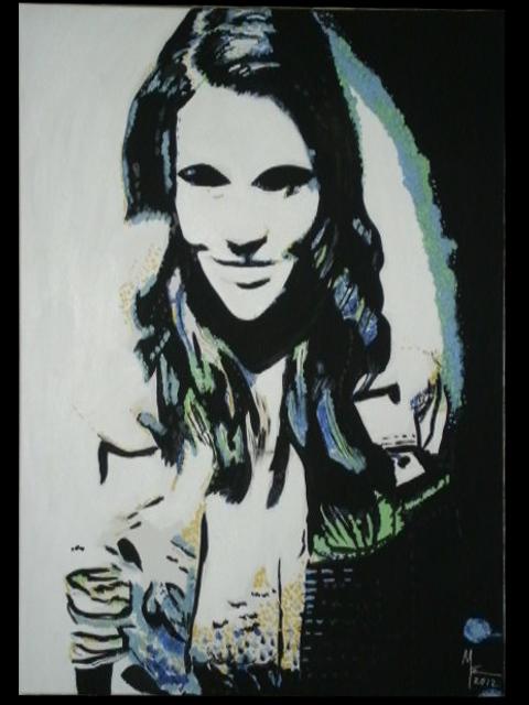 Porttait junge Frau von MW Art MArion Waschk