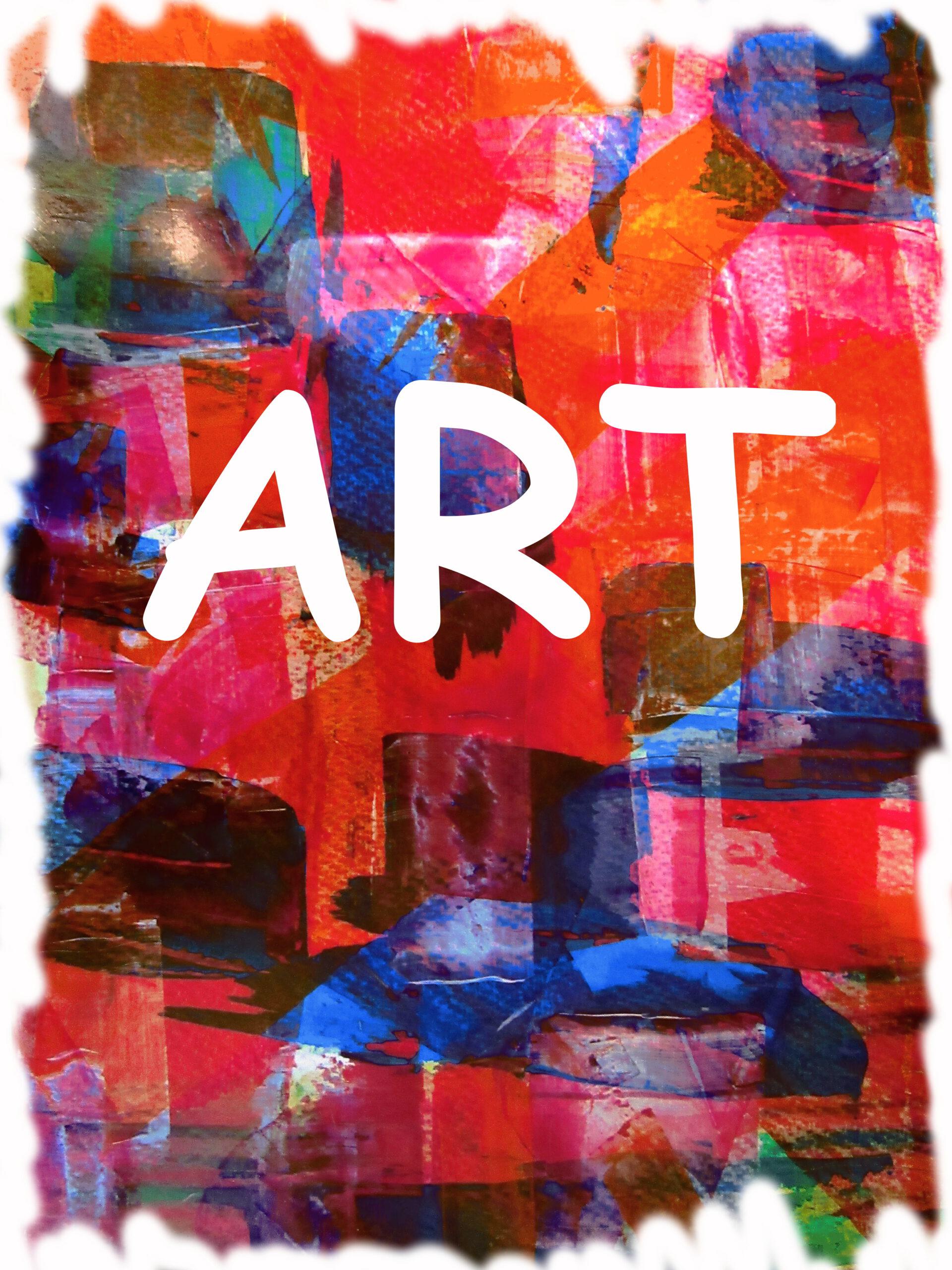 Kunst mit Kindern, Spachteln und Malen von MW Art Marion Waschk
