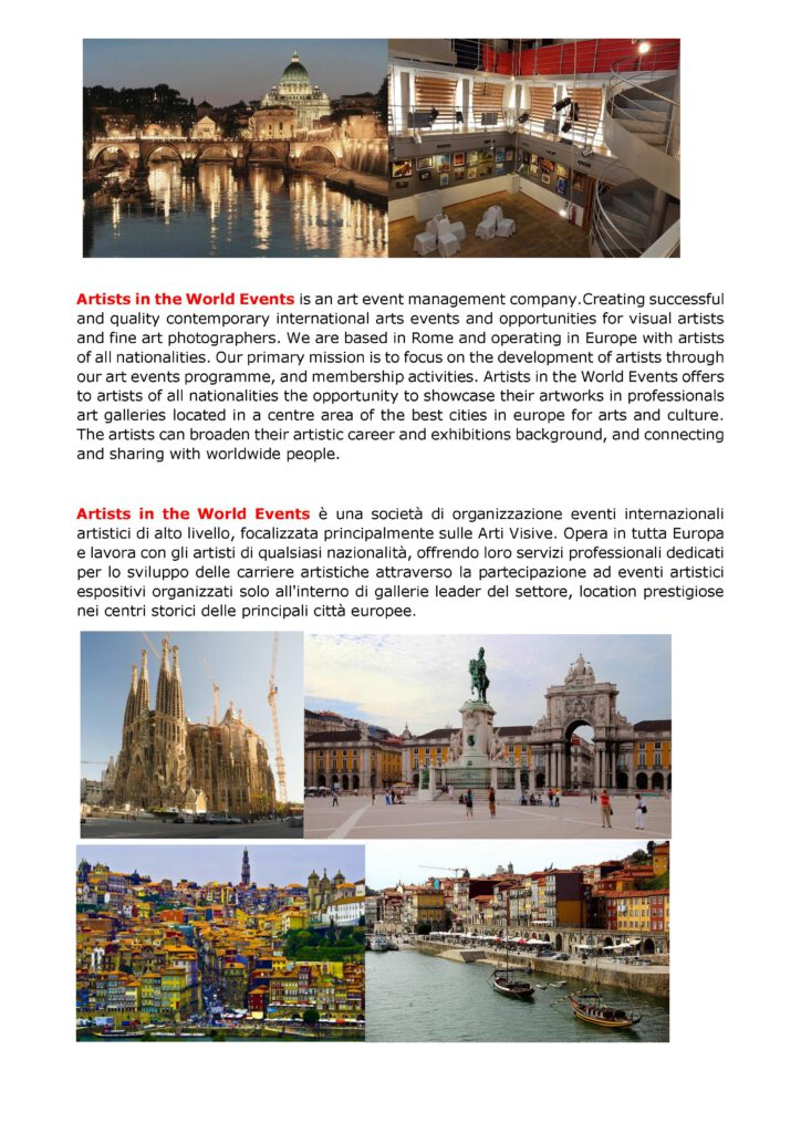 Press release Artexpo Summer Rome 2018. 5