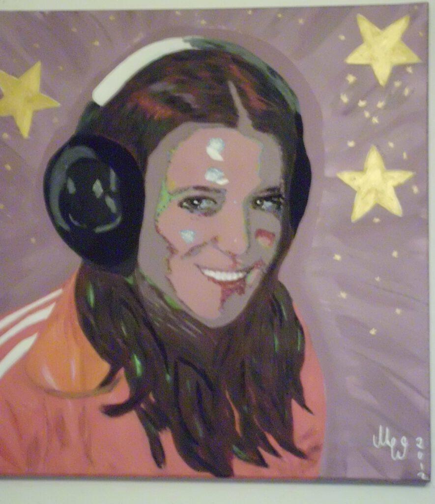 Portrait Mädchen von MW Art Marion Waschk Auftragsarbeit