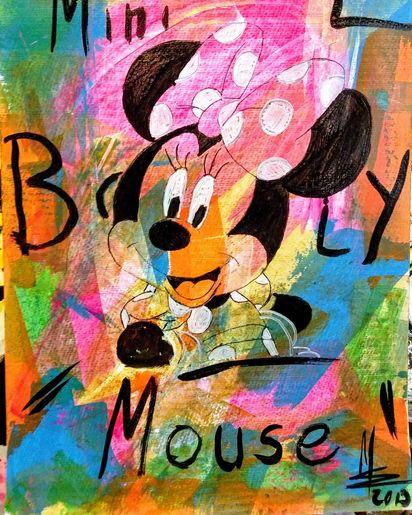 Mini Mouse knall bunt von MWArt Marion Waschk