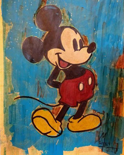 Mickey Mouse von MW Art Marion Waschk