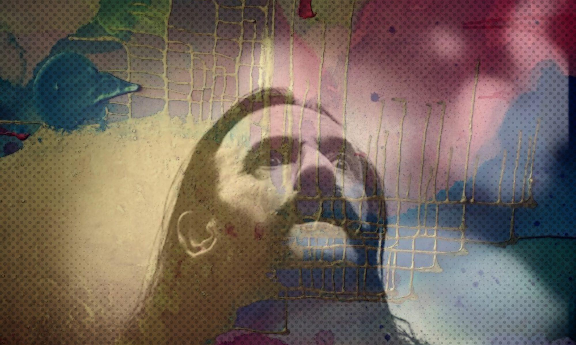 Digitale Collage des großartigen Musikers Lemmy Kilmister von MW Art MArion Waschk